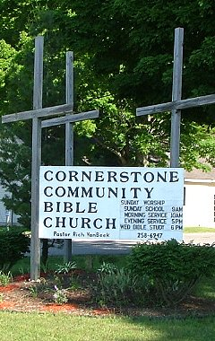 Cornerstone Community Bible Church Located in Kalkaska, MI...